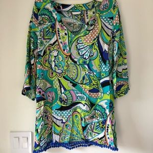 Trina Turk swimsuit cover up